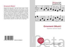 Bookcover of Ornament (Music)