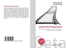 Urtext Film Productions kitap kapağı