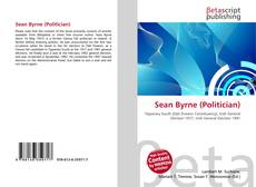 Bookcover of Sean Byrne (Politician)