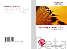 Bookcover of National Rat Terrier Club