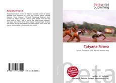 Bookcover of Tatyana Firova