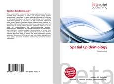 Bookcover of Spatial Epidemiology