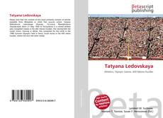 Bookcover of Tatyana Ledovskaya