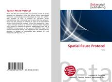 Bookcover of Spatial Reuse Protocol