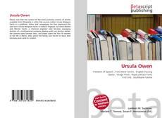 Bookcover of Ursula Owen