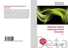 Couverture de Spatially Explicit Landscape Event Simulator