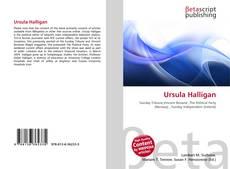 Bookcover of Ursula Halligan