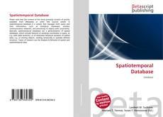 Обложка Spatiotemporal Database