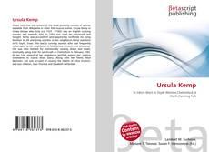 Bookcover of Ursula Kemp