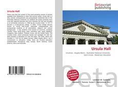 Bookcover of Ursula Hall