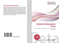 National Redemption Front kitap kapağı