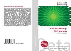 Buchcover von Amt Franzburg-Richtenberg