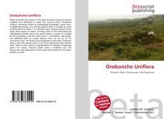 Buchcover von Orobanche Uniflora