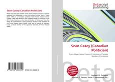 Bookcover of Sean Casey (Canadian Politician)