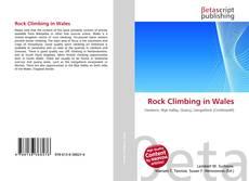 Обложка Rock Climbing in Wales