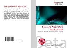 Couverture de Rock and Alternative Music in Iran
