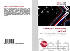 Bookcover of Little Lord Fauntleroy (Anime)