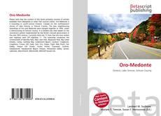 Bookcover of Oro-Medonte