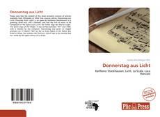 Buchcover von Donnerstag aus Licht