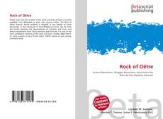 Bookcover of Rock of Oëtre