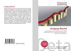 Bookcover of Uruguay Round