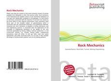 Bookcover of Rock Mechanics