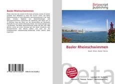 Couverture de Basler Rheinschwimmen