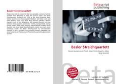 Borítókép a  Basler Streichquartett - hoz