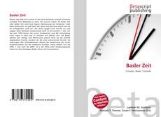 Capa do livro de Basler Zeit