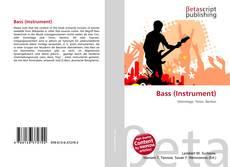Buchcover von Bass (Instrument)