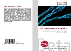 Обложка DNA Polymerase Lambda