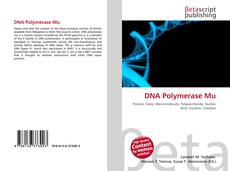 Обложка DNA Polymerase Mu