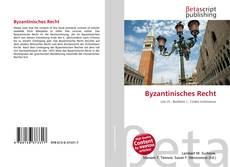 Buchcover von Byzantinisches Recht