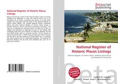 Bookcover of National Register of Historic Places Listings