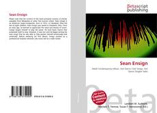 Bookcover of Sean Ensign