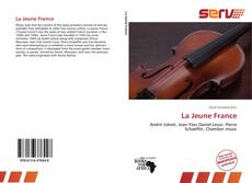 Bookcover of La Jeune France
