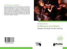 Borítókép a  Le Marteau sans Maître - hoz