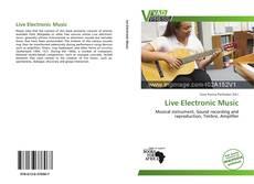 Portada del libro de Live Electronic Music