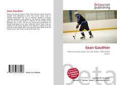 Sean Gauthier的封面