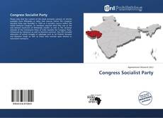 Capa do livro de Congress Socialist Party
