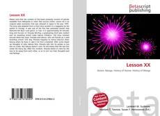 Bookcover of Lesson XX