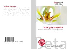 Bookcover of Acampe Praemorsa
