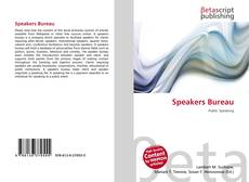 Speakers Bureau kitap kapağı