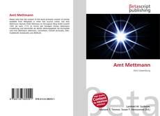 Bookcover of Amt Mettmann