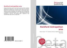 Bookcover of Rockford metropolitan area