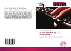 Bookcover of Piano Sonata No. 10 (Prokofiev)