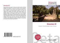 Capa do livro de Orontes IV