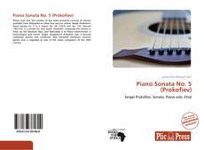Обложка Piano Sonata No. 5 (Prokofiev)