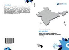 Copertina di Hindi Belt