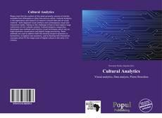 Buchcover von Cultural Analytics